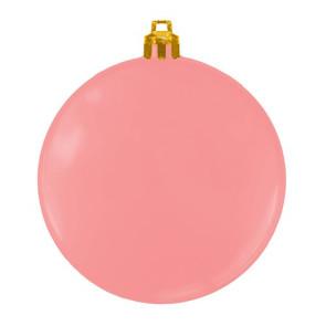 USA Made Custom Christmas Ornaments - Flat Shatterproof - Pink