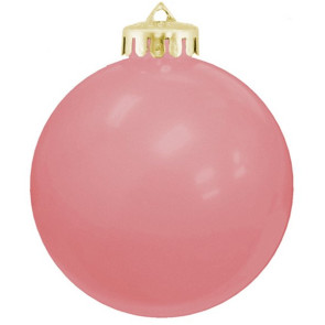 USA Shatterproof Christmas Ball Ornaments - Pink