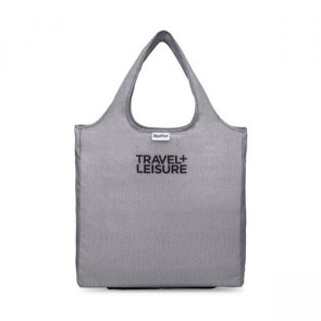 RuMe bFold Foldable Reusable Tote - Heather Grey