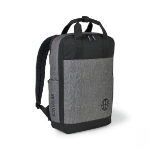 Logan Computer Backpack Granite - Heather Grey
