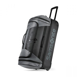 Samsonite Andante 2 28in Drop Bottom Wheeled Duffel - Riverrock/Black