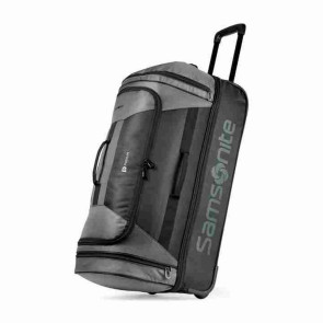 Samsonite Andante 2 32in Drop Bottom Wheeled Duffel - Riverrock/Black