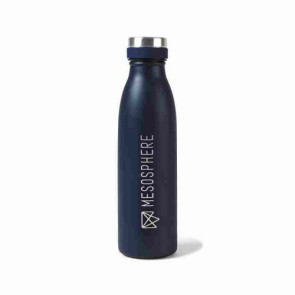 Aviana Palmer Double Wall Stainless Bottle - 17 Oz. Matte Navy