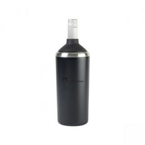 Aviana Magnolia Double Wall Stainless Wine Bottle Cooler - Matte Black