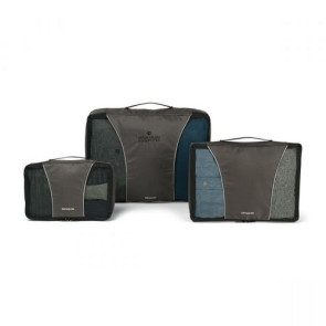 Samsonite 3 Piece Packing Cube Set Charcoal