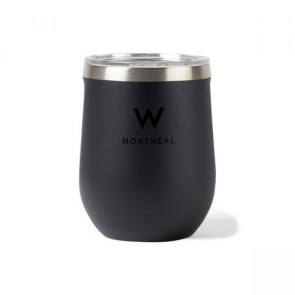Corkcicle Stemless Wine Cup - 12 Oz. Matte Black