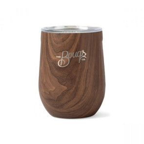 Corkcicle Stemless Wine Cup - 12 Oz. Walnut
