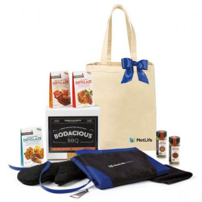 Bodacious BBQ Gift Set - Natural-Royal