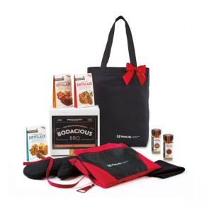 Bodacious BBQ Gift Set - Black-Red