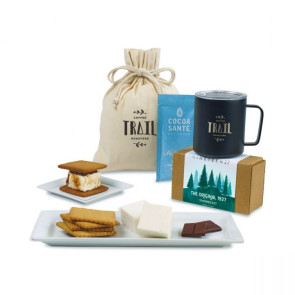 MiiR Camp & S'mores Gift Set - Black Powder Insulated Camp Cup