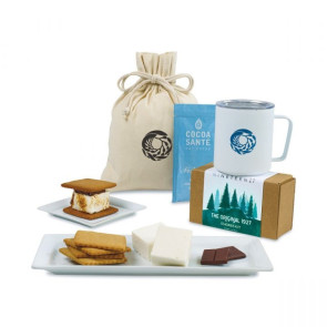 MiiR Camp & S'mores Gift Set - White Powder Insulated Camp Cup