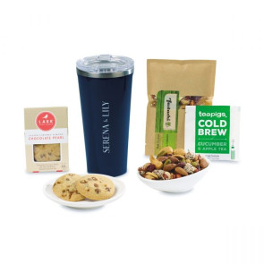 Corkcicle Welcoming Wonder Tumbler Gift Box - Gloss Navy