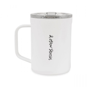 Corkcicle Coffee Mug - 16 oz. - Gloss White