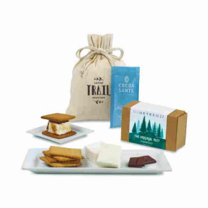 Cozy S'mores & Cocoa Gift Bag - Natural