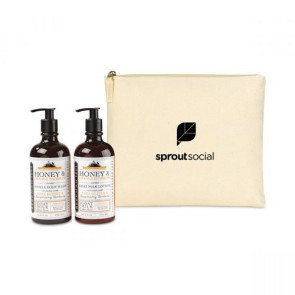Beekman 1802 Farm to Skin Ultimate Hand Care Gift Set - Natural-Honey & Orange Blossom