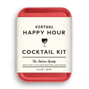 W&P Virtual Happy Hour Cocktail Kit - Italian Spritz - Red