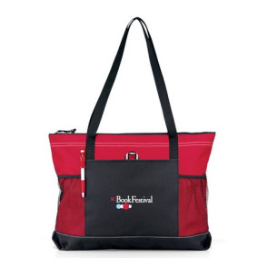 Select Zipper Tote - Red