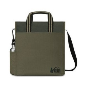 Charlie Cotton Tote Deep - Forest Green