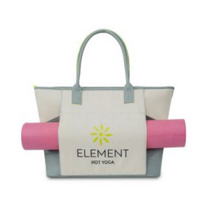 Balance Active Cotton Tote Natural/Glacial Grey