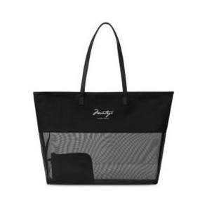 Atlantis Mesh Beach Tote Black