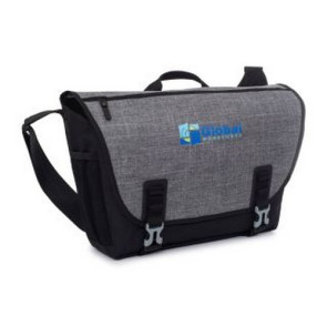 Nova Computer Messenger Bag - Black/Charcoal Heather