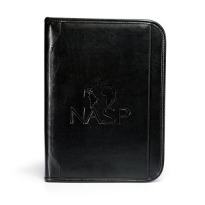 Vintage Leather E-Padfolio - Black