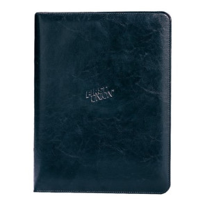 Executive Vintage Leather Writing Pad - Black