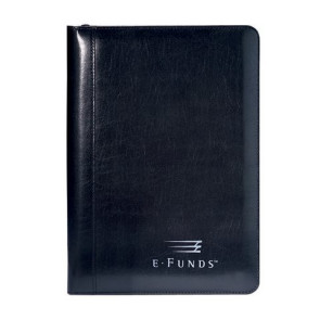 Wall Street Junior Writing Pad - Black