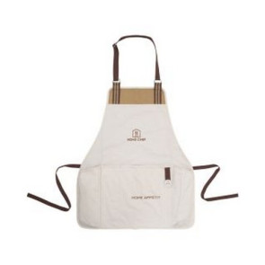 Charlie Cotton BBQ Grill Apron Dune