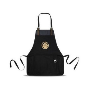 Charlie Cotton BBQ Grill Apron Black