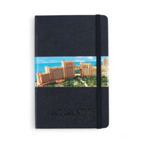 Moleskine Hard Cover Ruled Medium Notebook Black