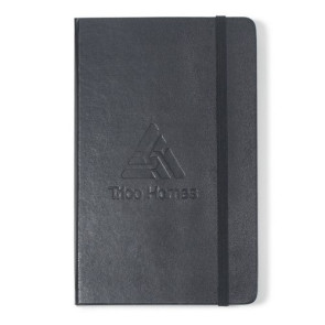 Moleskine  Hard Cover Squared Large Notebook - Black