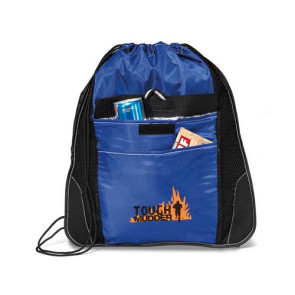 Elite Sport Cinchpack with Insulated Pocket - Royal