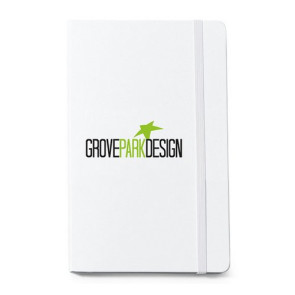 Moleskine  Hard Cover Ruled Large Notebook - White