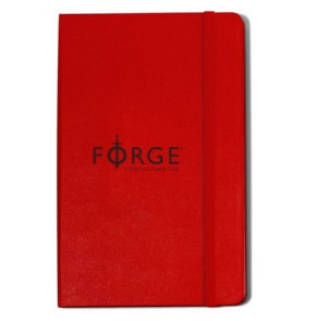 Moleskine Hard Cover Ruled Large Notebook Red