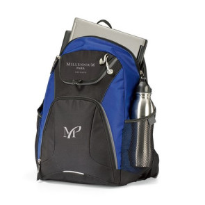 Quest Computer Laptop Laptop Backpack - Royal Blue