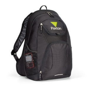 Quest Computer Laptop Backpack - Black