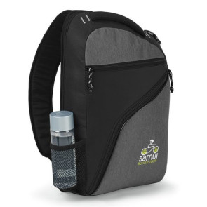 McKinley Computer  Monopack - Black/ Heather Gray