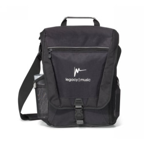 Vertex#0153;Vertical Computer Messenger Bag Black