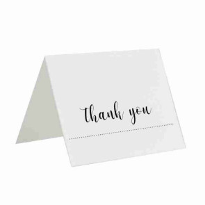 Gourmet Expressions Thank You Folding Greeting Card Custom