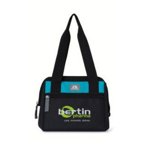 Igloo Leftover Lunch Bag Black/Blue Ice