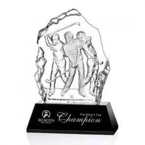 Fergus Golf Award (S) - Optical/Black 6 1/2 in