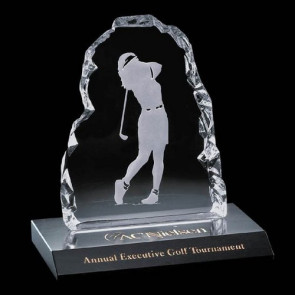 Female Golfer Iceberg Award - 7 in. Female