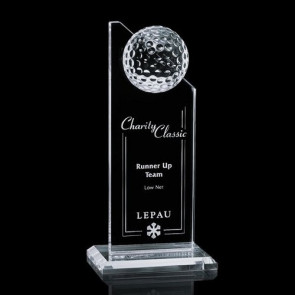 Ashfield Golf Award - Optical 8 in.