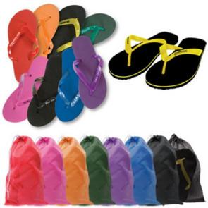 Adult Flip Flops - Logo Branded Sandals