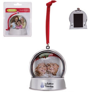 Magnetic Snow Globe Holiday Ornament