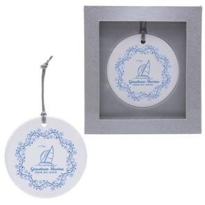 Ceramic Ornament - Round Circle