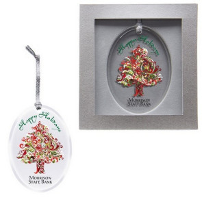 Acrylic Ornament - Oval