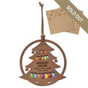 Wood Ornament - Christmas Tree
