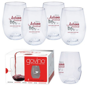Dishwasher Safe Govino® 16oz Wine Glass 4 Pack
